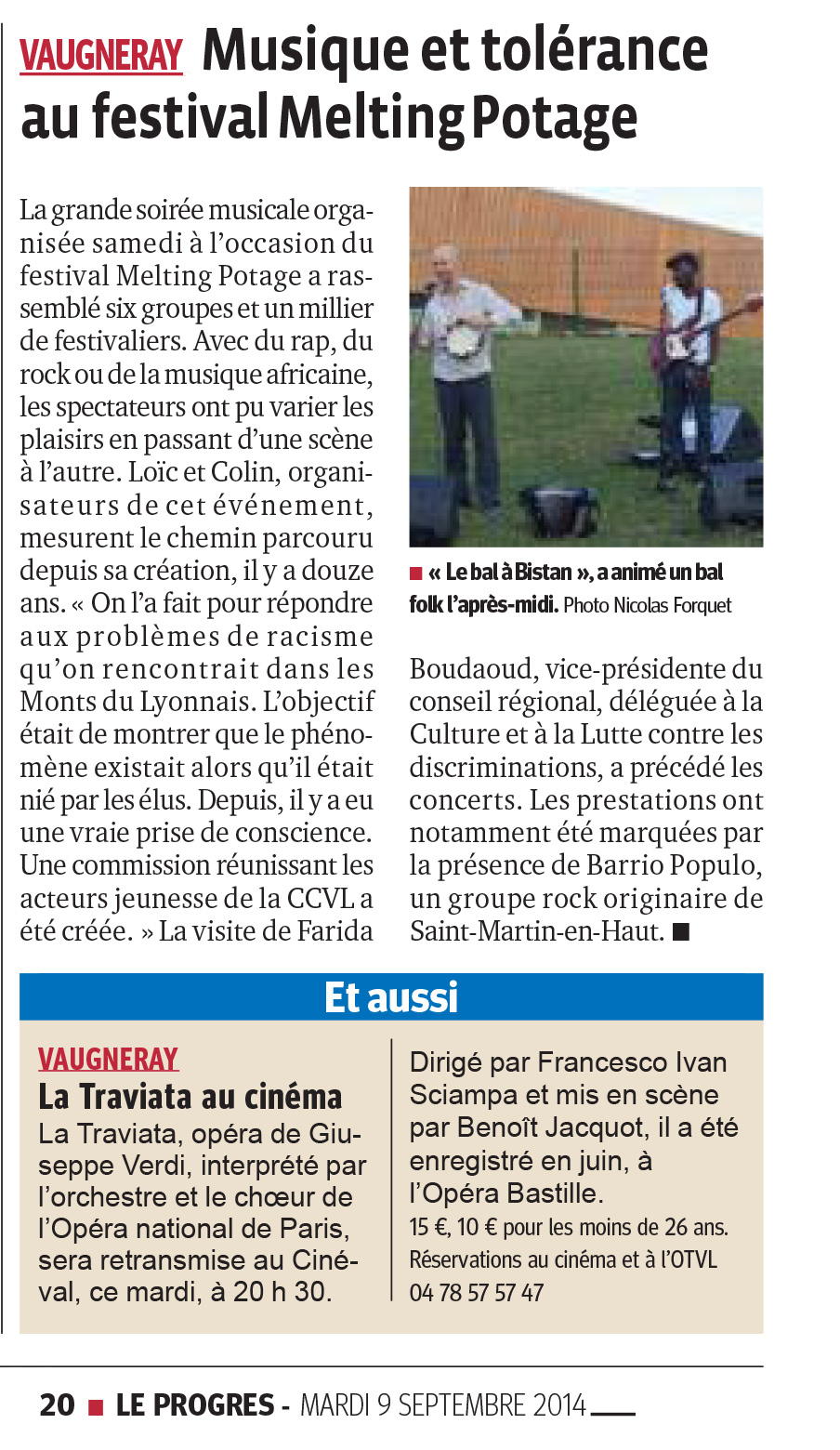 Interval 2014_article Le Progrès 09.09.2014